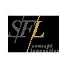 Блок розеток SFL BP8-2 (2*220) метал. под нерж