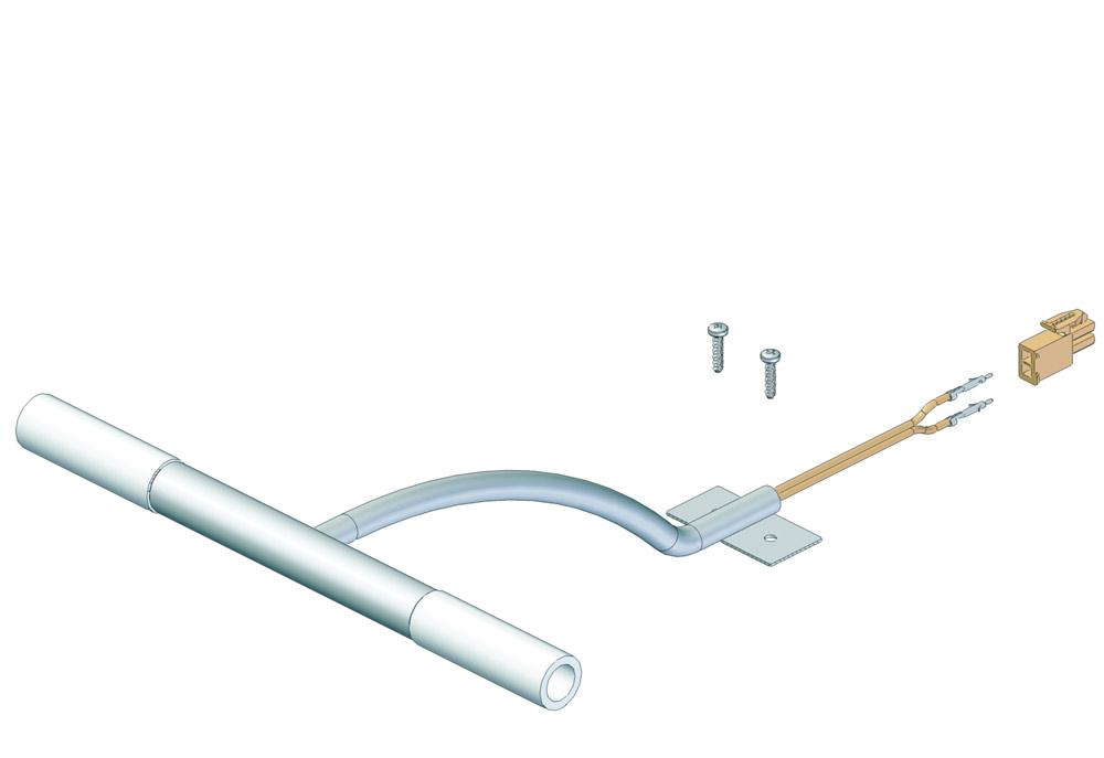 Галогенный светильник Duo, 2хВт, 12 В, кабель 1800мм хром, 200х188х70мм