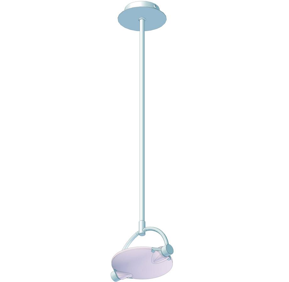 Галогенный светильник Vanity off, 100Вт, 220В кабель 2000мм хром, 160х16х662мм