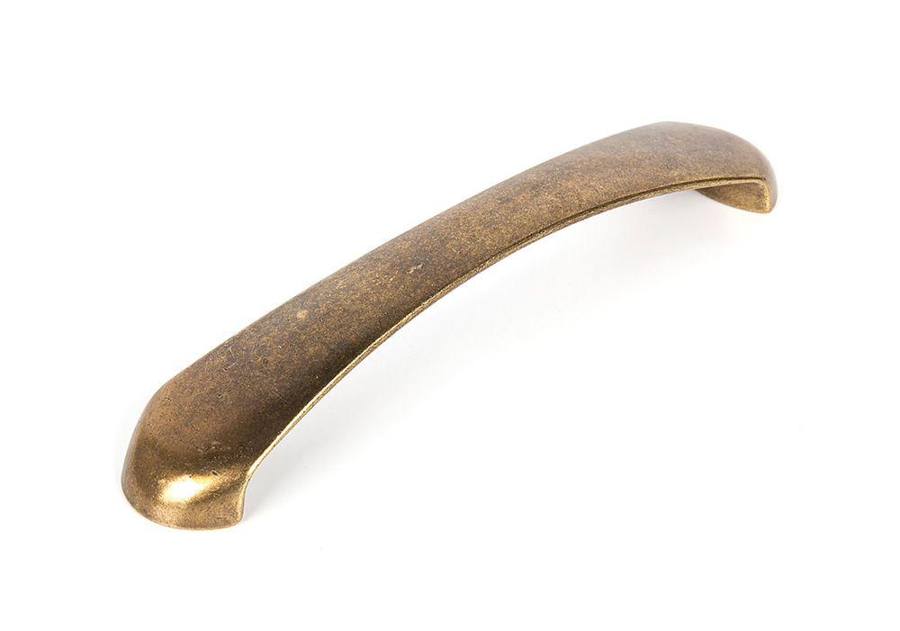 Ручка мебельная LMG 10071,м.ц.160мм состаренная латунь