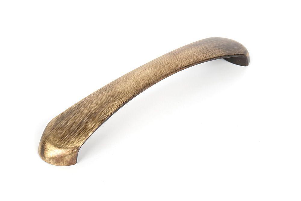 Ручка мебельная LMG 10071,м.ц.160мм брашированная латунь