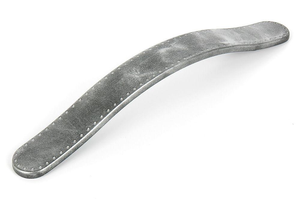 Ручка мебельная LMG 10111,м.ц.160мм серебряный песок