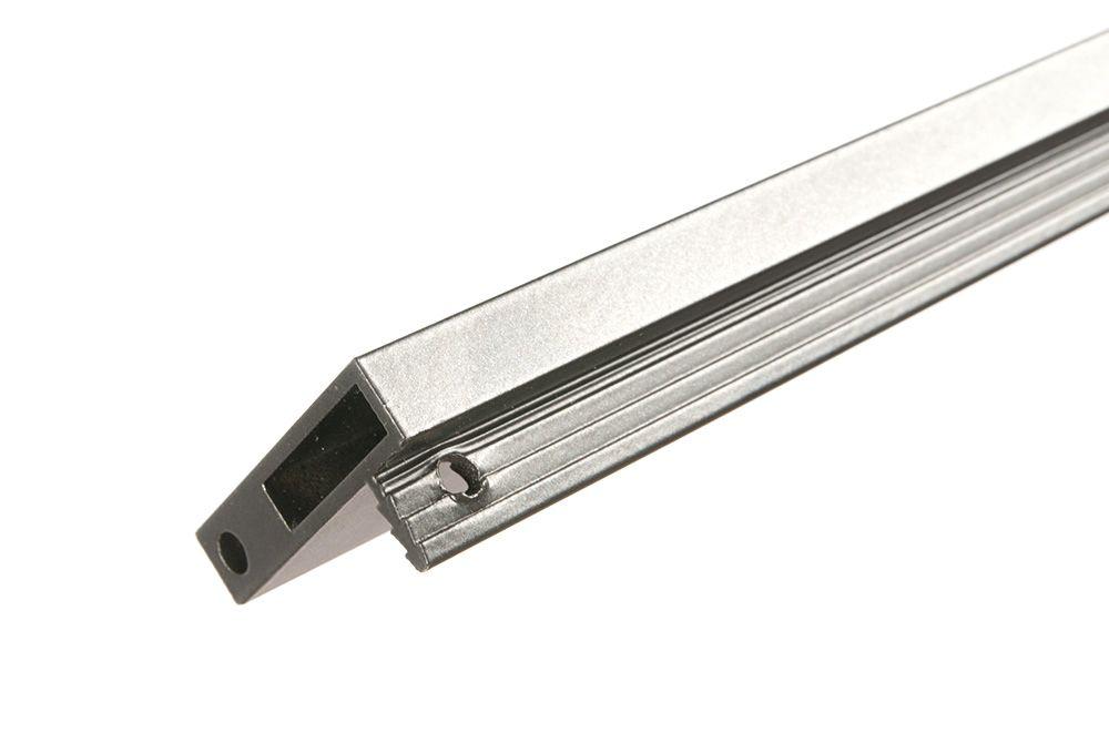Вертикальный профиль Glix Wood ручка по центру  L 2600мм антрацит