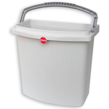 Ведро 12,5л для Rondo-Comfort светло-серый 410х320х185мм