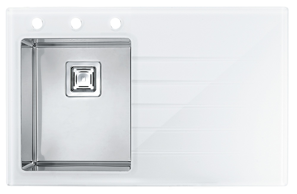Мойка Crystalix 10, левая 860х540x211