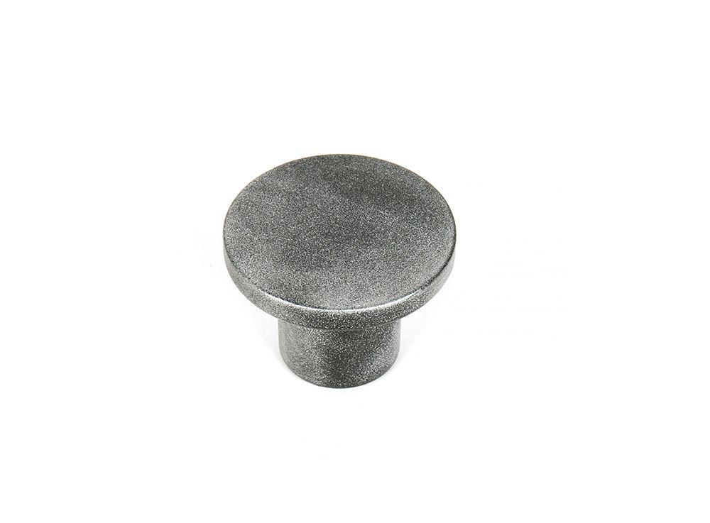 Ручка мебельная LMG 11032, d -33мм серебряный песок