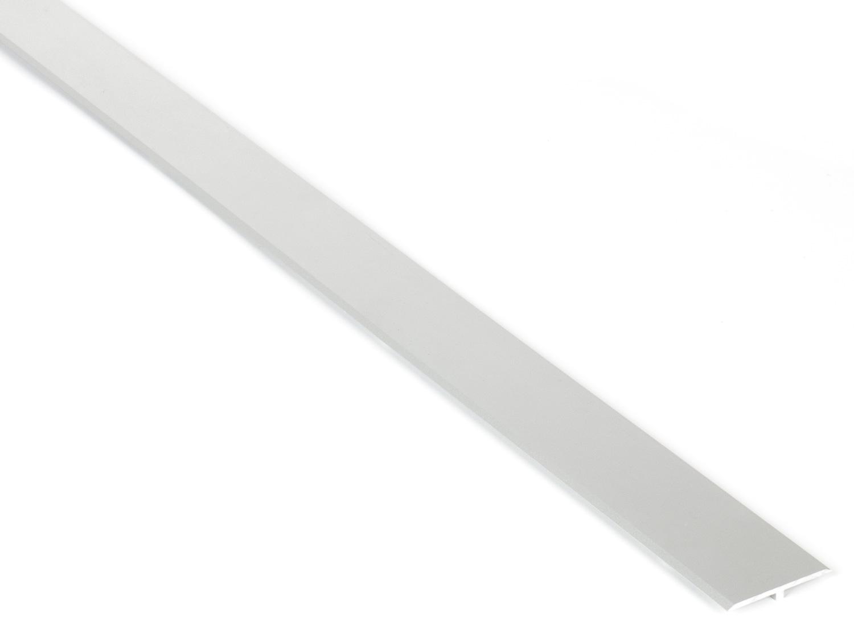 Соединительный алюминиевый профиль для фасадов, 3500мм серебро