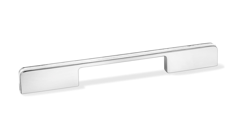Мебельная ручка Union Knopf белый пластик Duron/глянцевая нержавейка