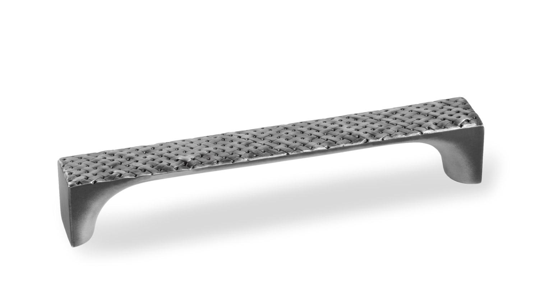 Мебельная ручка Union Knopf металл.плетение, черное винт.железо