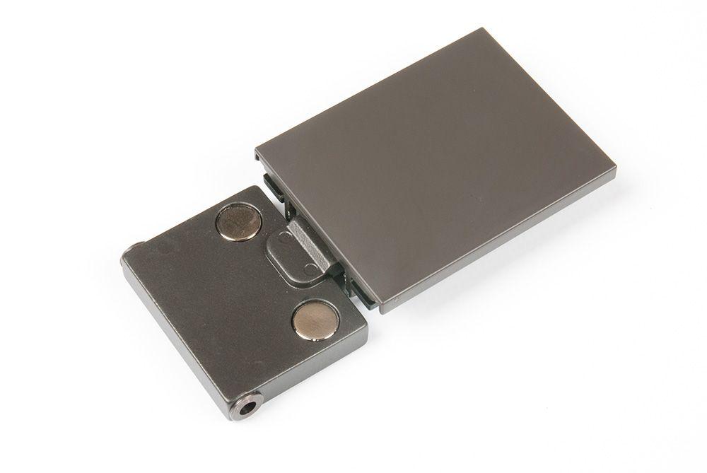 Петля (заглушка, шпилька, проставка по 2 шт.), 2 шт в комплекте антрацит