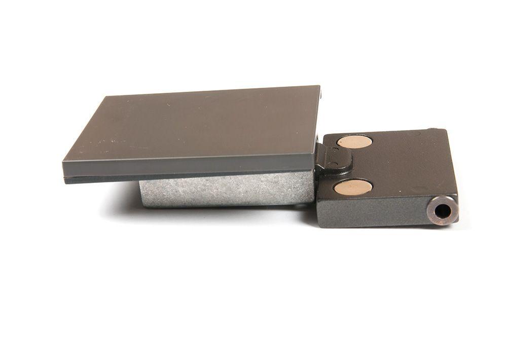 Петля глубокая (заглушка, шпилька, проставка по 2 шт.), 2 шт в комплекте антрацит