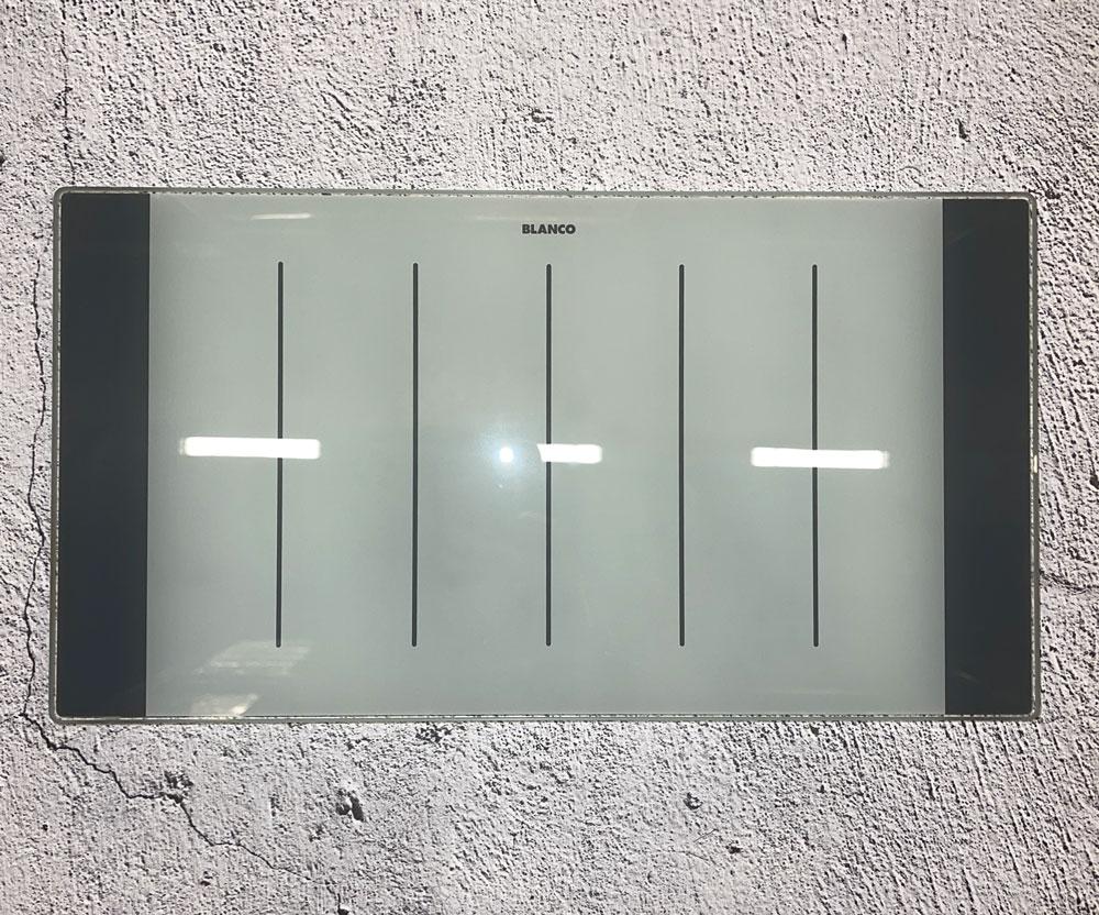 Разделочная стеклянная доска для Axia II 9E 417*225