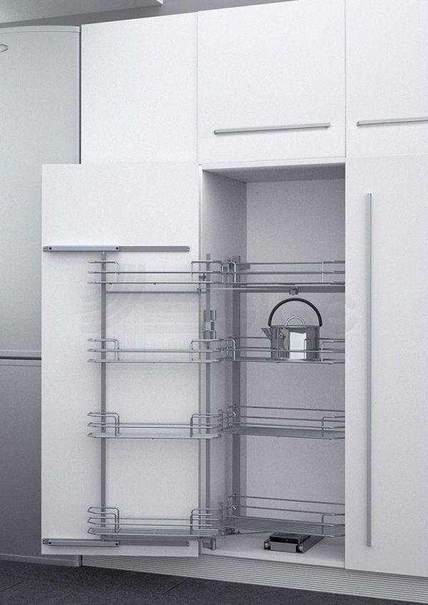 Выдвижная система Duo-8 в высокий шкаф с Soft-close 410*470*1110/1460