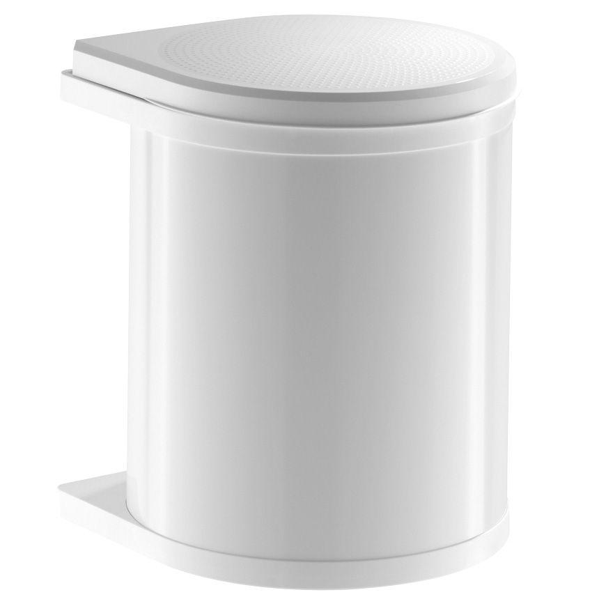 Ведро Mono 15л, белый 290х304х365, белый