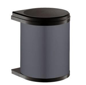 Ведро Mono 15л, черный 290х304х365, черный
