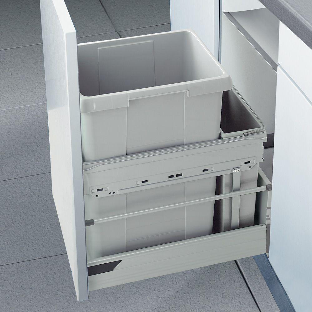 Комплект контейнеров для установки в ящик 30 см Euro-Cargo 30 см, 1х35л, 1х7л