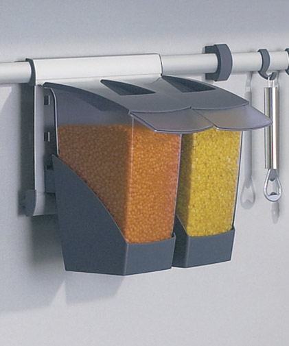 Блок из 2-х съемных контейнеров (снят) 260х190х230