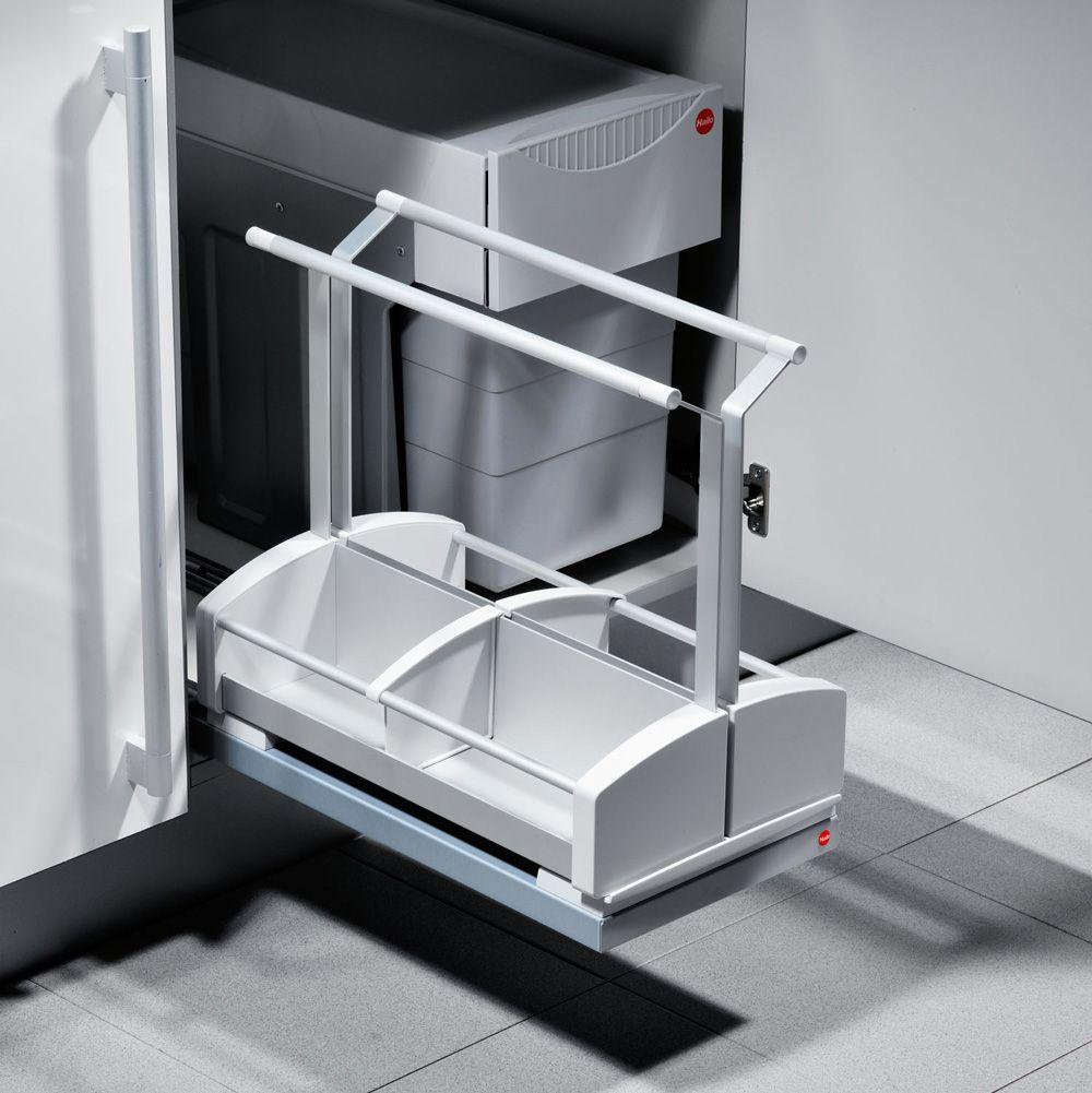 Выдвижная платформа Carry с 2-мя переносными емкостями