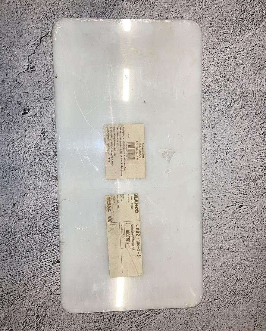 Разделочная доска для Multi 6 S 26х52 белая