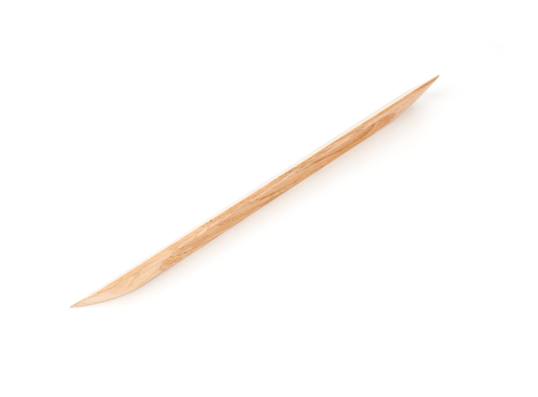 Ручка мебельная Chiselle 224, дуб 315*37*13