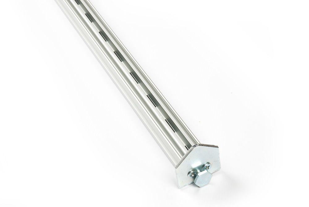 Вертикальный профиль Vertiko, L 2650 алюминий