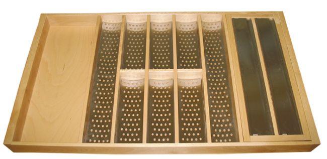 Лоток Fit Decor для столовых приборов 900 с 8 вклад. и  отрывным устройством  (Mepla) 471*806*56