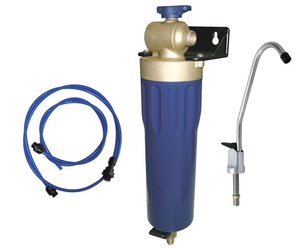 Фильтр SYR POU + кран + комплект для подключения к смесителю