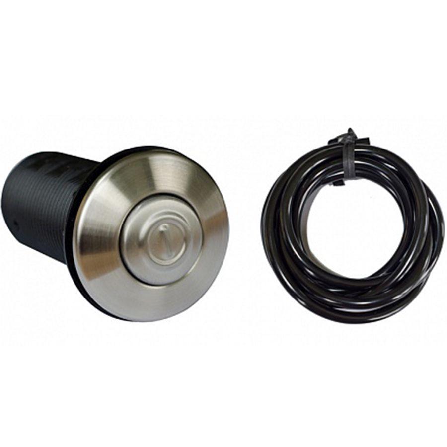 Кнопка и мембранная коробка пневмовыключателя (металл)