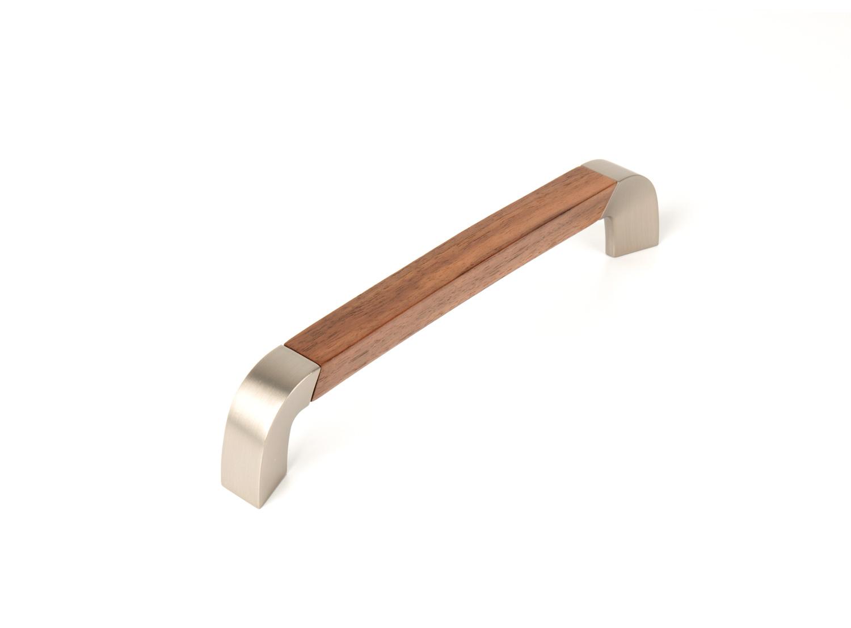 Ручка мебельная Epoch Combi 192, орех 210*42*18