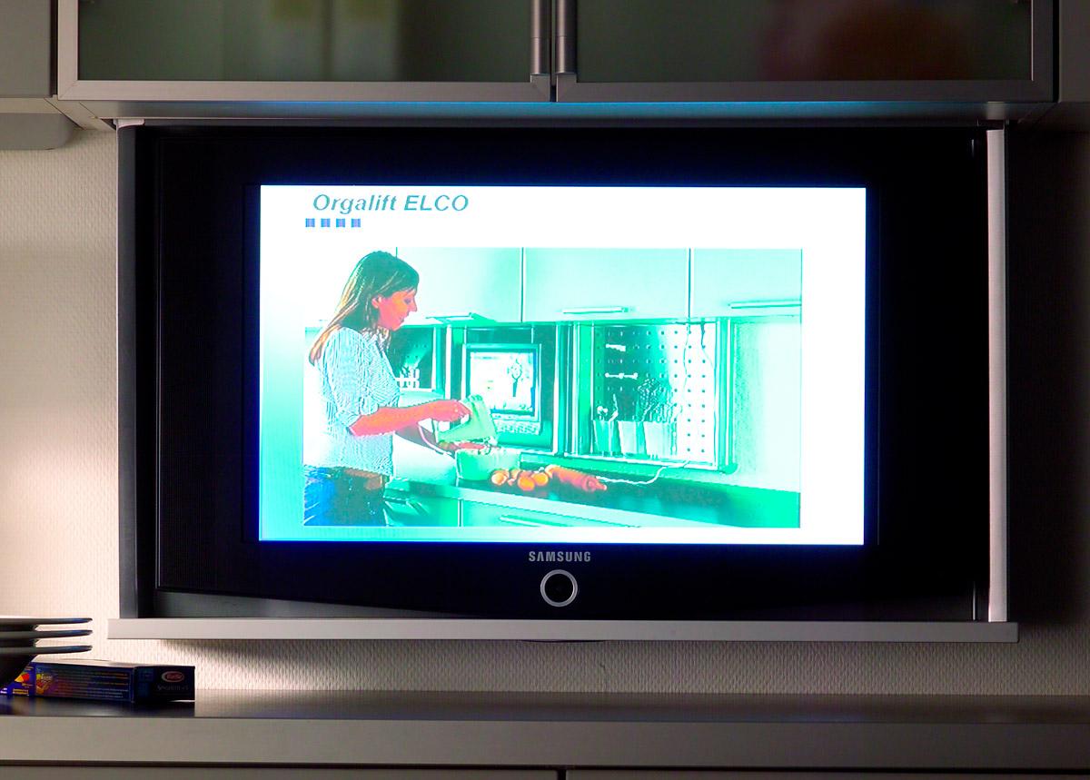 Оргалифт электрический  900/стандарт  для ДСП 18см