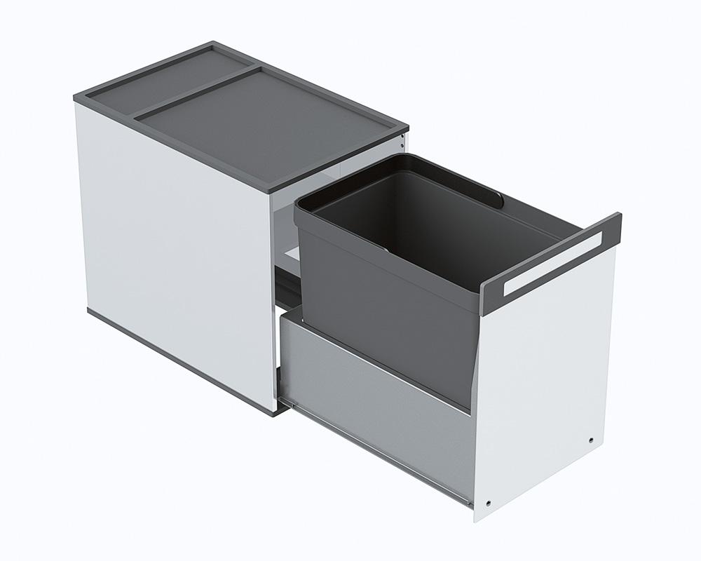 Выдвижная система  Inox Box 1 нерж.сталь