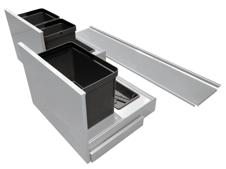 Секция под мойку Base System 120 алюминий