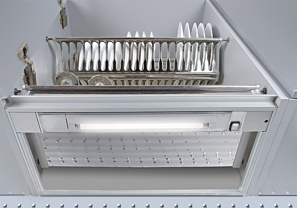 Рама с люминисцентной подсветкой в шкаф 80см (ДСП 18мм) 280-330мм
