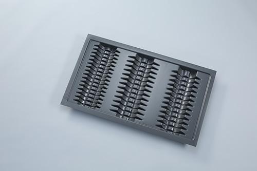 Подставка под тарелки для ящика Blum Tandembox шириной 90см пластик/серый