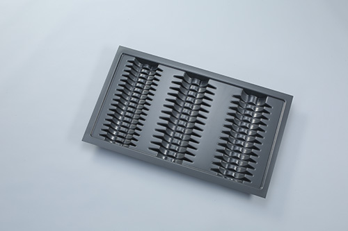 Подставка под тарелки для ящика Hettich InnoTech шириной 90см пластик/серый