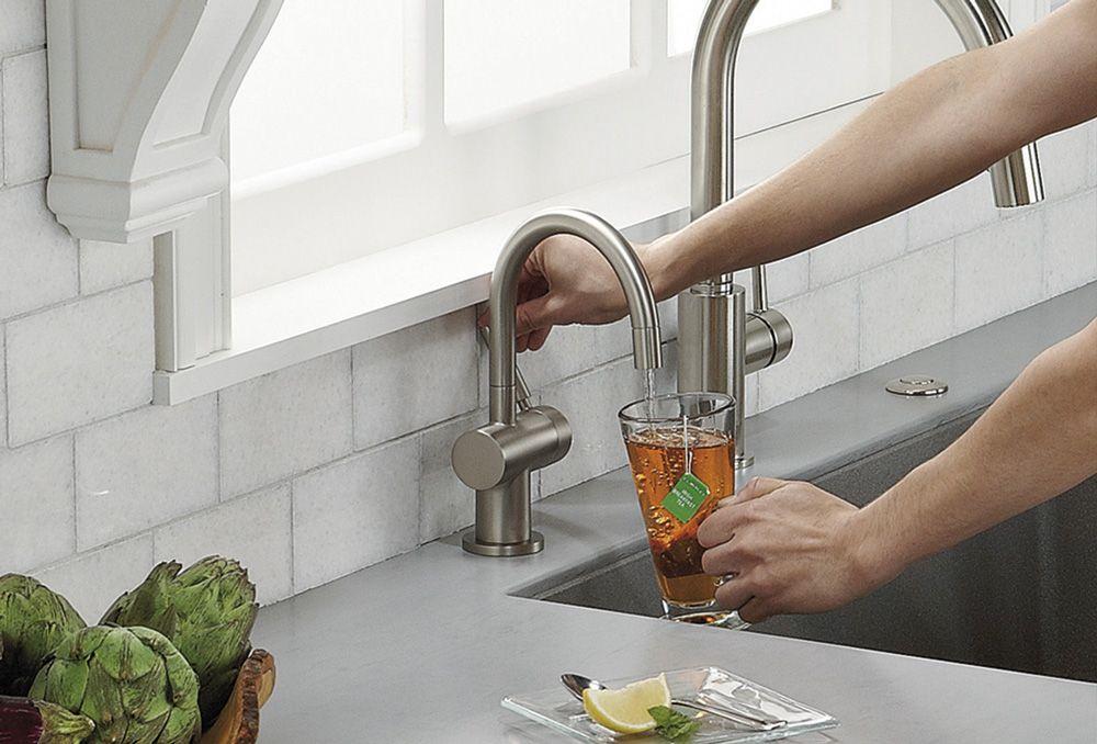 Система мгновенного кипячения воды AQUA HOT c краном F-HC3300C