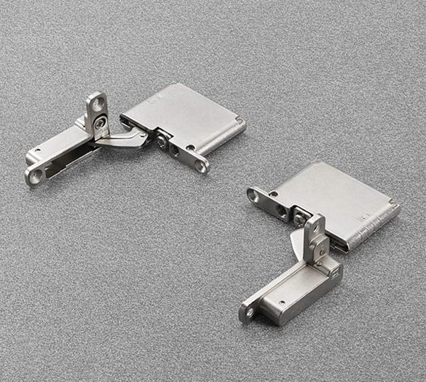 Salice Петля AIR Push 105° (комплект: левая + правая + крепеж), никель