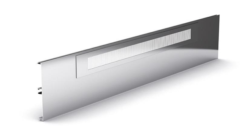 Вентиляционная решетка 450 мм (LAM.45X450ARPCO) алюминий