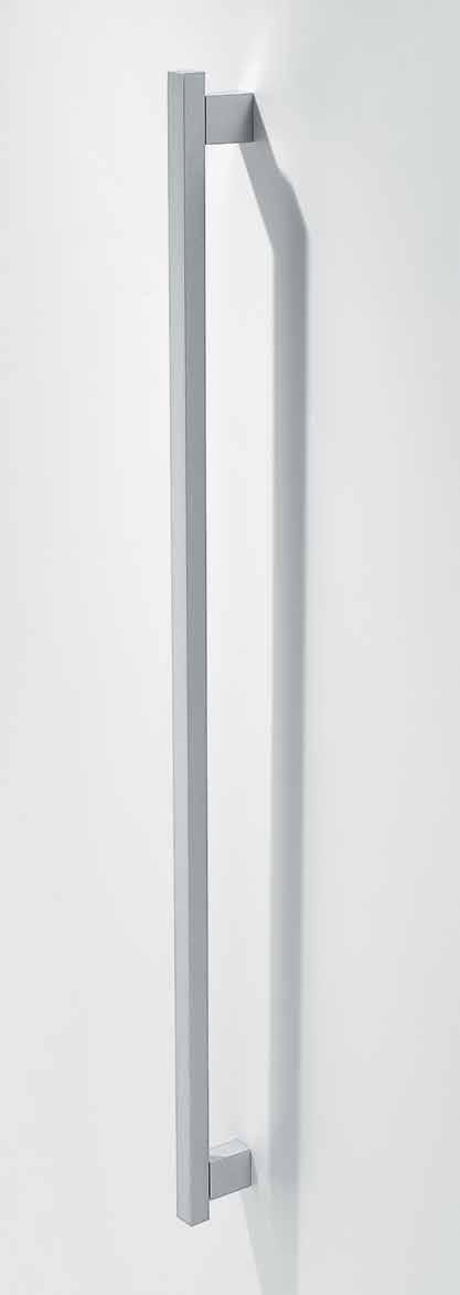 Ручка накладная мебельная, 992мм мат.серебро