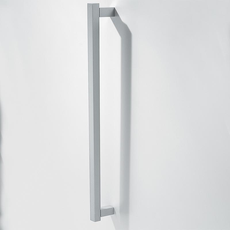 Ручка накладная мебельная, 500мм мат.серебро