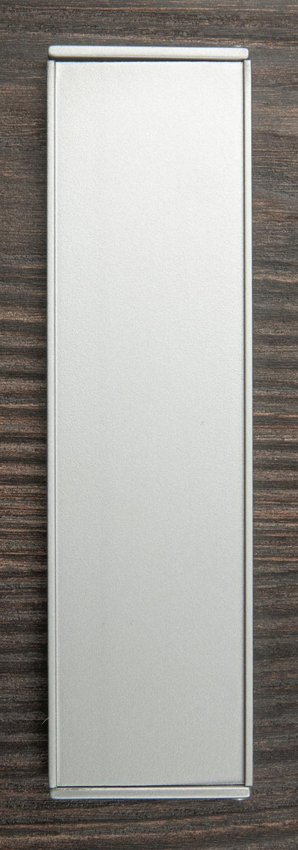 Ручка откидная мебельная мат.серебро