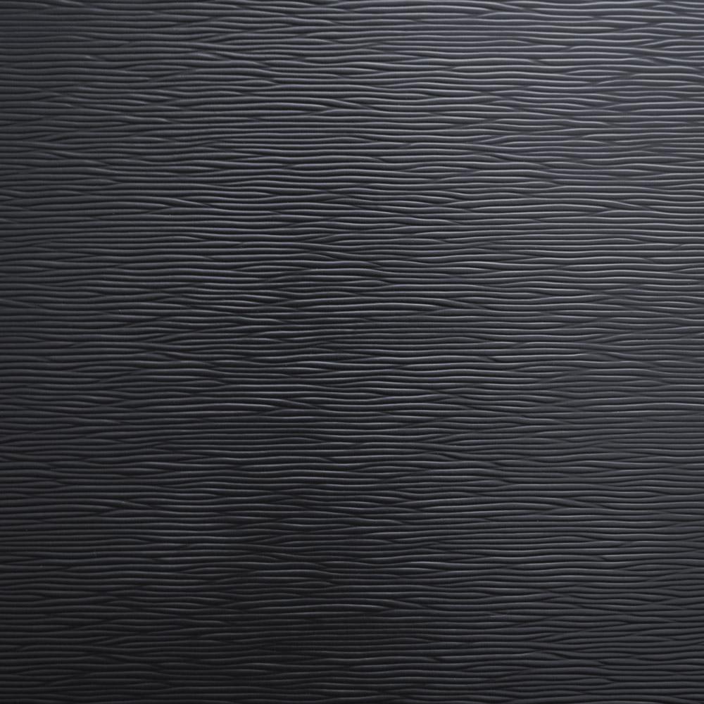 Стекло Vena, черный  (текстура рифление) X=2400, Y=1250, H=4