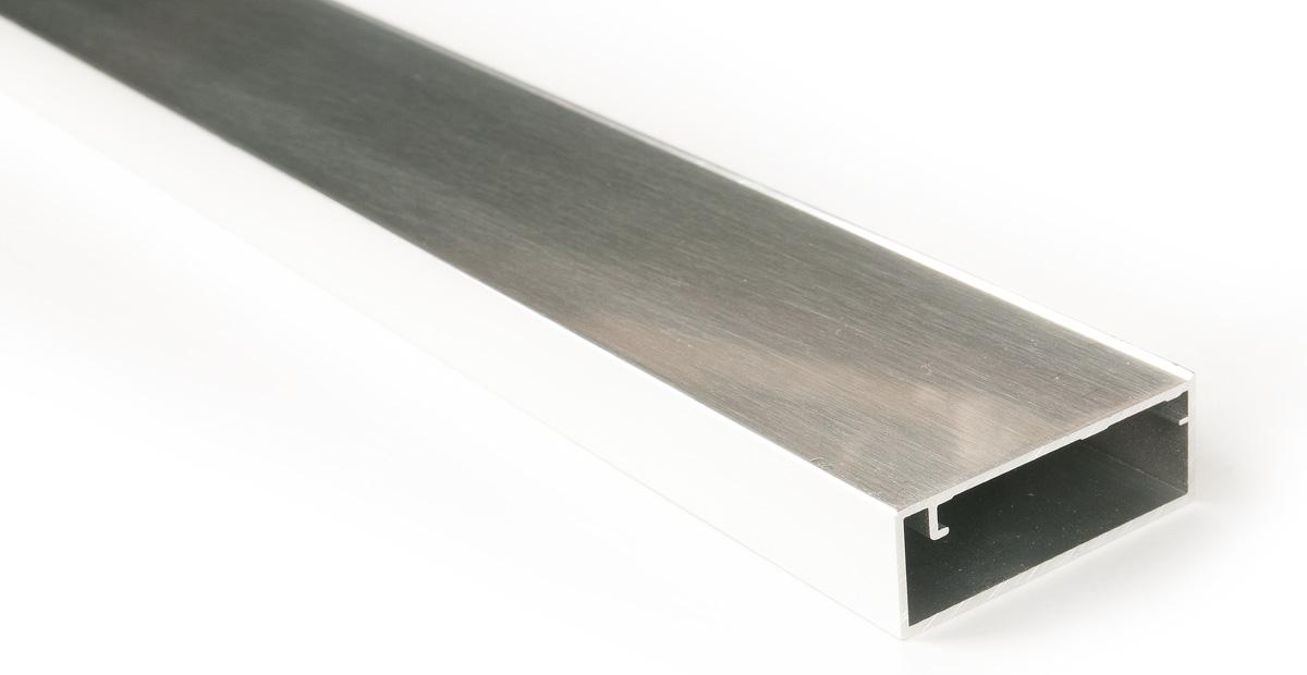 Рамочный профиль TS7001, 2740мм глянцевый алюминий