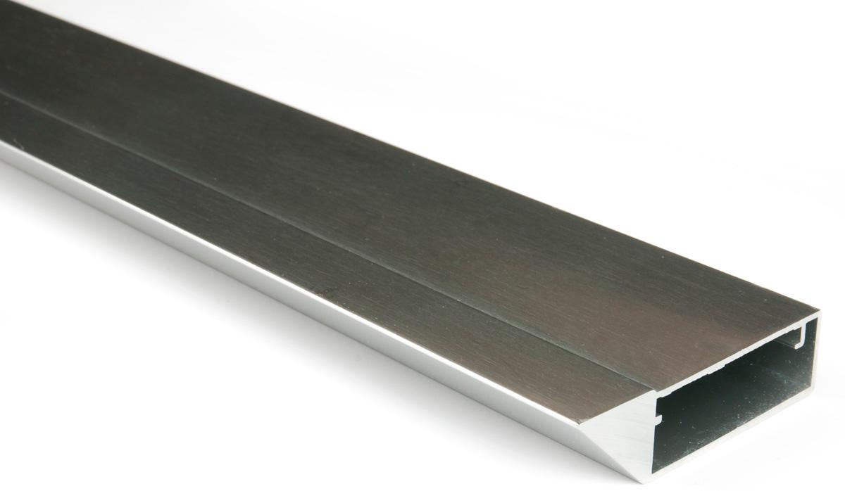 Рамочный профиль TS7002, 2740мм глянцевый алюминий