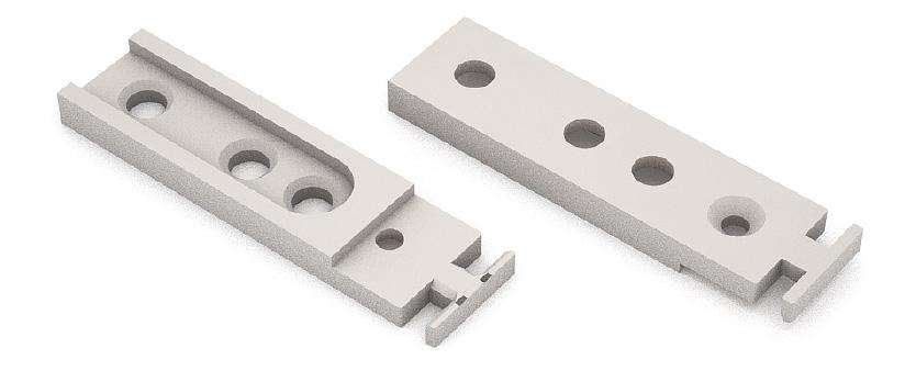 Соединительный элемент CATENARIA TS1976 для крепленая профиля к боковинам шкафа пластик