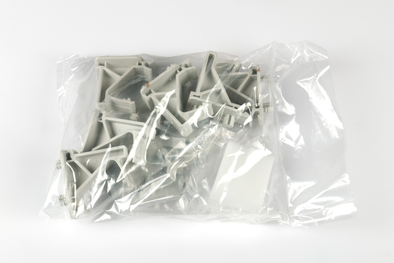 Комплект из 6шт клипс пластик