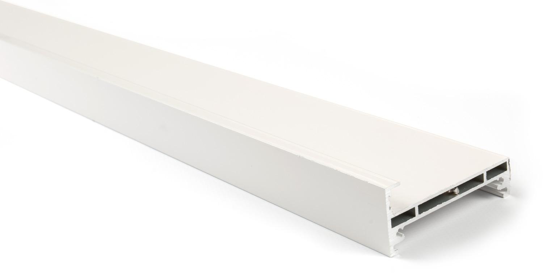 Горизонтальный профиль для Glow (3м) белый