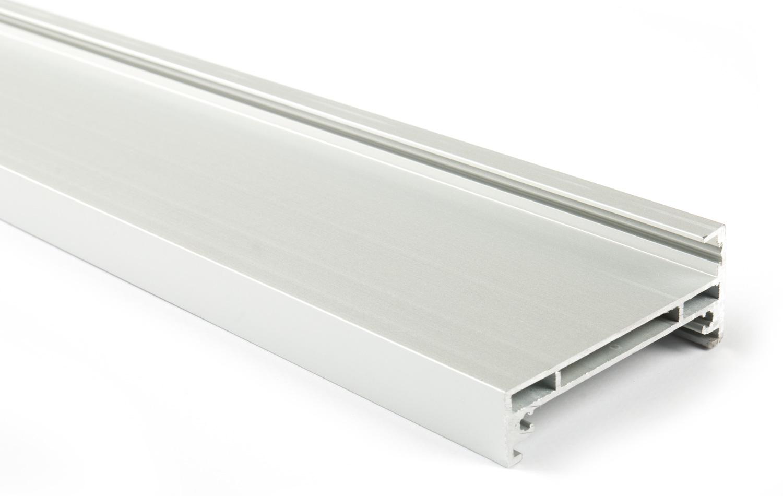 Горизонтальный профиль для Glow (6м) серебро