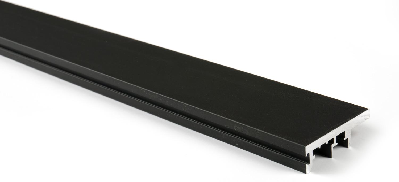 Вертикальный профиль-ручка для Glow (3м) чёрный