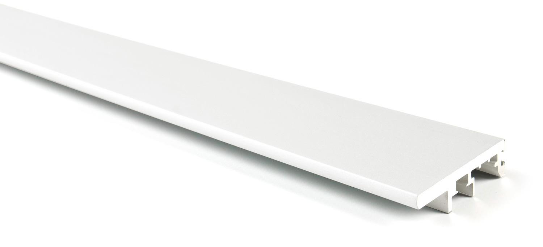 Вертикальный профиль-ручка для Glow (6м) белый